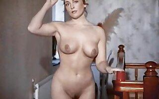 MAID FOR PLEASURE - vintage British striptease