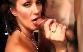 Crazy pornstar Candy Vegas in best gangbang, interracial porn video