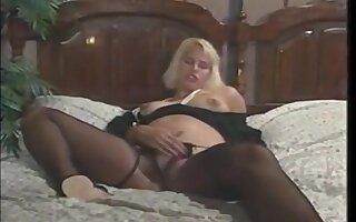 Huge Respecting Pregnant Fruit Blonde Slut Gets Fucked In Be transferred to course of She's A Termagant With A Toddler More than Be transferred to Way