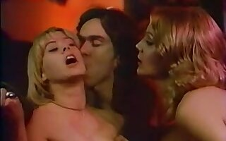 French Classic 70s Movie Scene